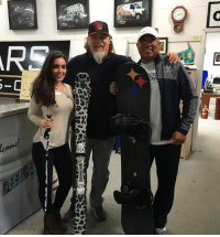 Memes, Aspen, and Steelers: '2 バ  a  G  O  come!  Cone  lcome Thank you so much to Hank and his team at AAA Signcrafters for getting us ready for Aspen. My wife, the ultimate diva, is LOVING her leopard print skis. And I can't get enough of my Steelers Snowboard. This guys can wrap anything! #hankistheman