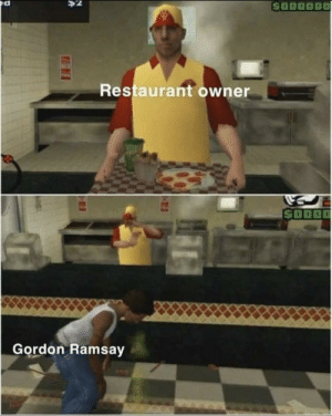 """Gordon Ramsay, Reddit, and Guess: $2  $000000  Restaurant owner  S000  Gordon Ramsay I feel like I've just given birth. I guess that's the placenta. """"Gordon Ramsay"""""""