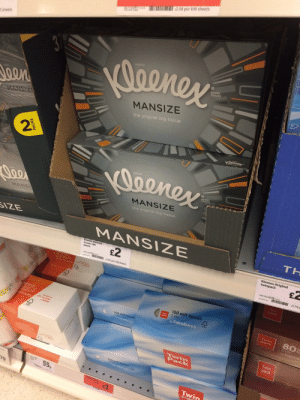 gold:  masculinityissofragile:  theletterkilleth:  masculinityissofragile:  MAN SIZE KLEENEX FOR MY MALE TEARS  Tears are not the bodily fluid that came to mind when I saw special kleenex marketed at men…  OH  OMFG : 2.08 per 100 sheets  O sheets  Daenex  BRAND  TISSUES  Joen  MANSIZE  MANSIZ  the original big tissue  Kleener  Deeney  BRAND  TISSUES  Joe  MANSIZE  the original big tissue  MANSI  SIZE  TH  MANSIZE  Kleenex mansize  tissues 100  £2  Kleenex Original  twinpack  sheets  2.00 per 100 sheets  29302961925  - I d74  bascs  Twin  pack  150 soft tissues  Tein 2 ply  by Sainsbury's  SICS  80  3 ply  Sainst  tissues  150 soft  Saletury's  Twin  pack  55,  Twin  70  PACKS gold:  masculinityissofragile:  theletterkilleth:  masculinityissofragile:  MAN SIZE KLEENEX FOR MY MALE TEARS  Tears are not the bodily fluid that came to mind when I saw special kleenex marketed at men…  OH  OMFG