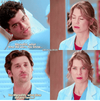 [2.10] Omg, awkward😂 — FOLLOW @GREYSCAPSS BECAUSE THIS SUPER AMAZING GIRL IS CLOSE TO 100K AND SHE TOTALLY DESERVES IT❤ u go girl { merder meredithgrey ellenpompeo derekshepherd patrickdempsey greysanatomy}: 2.10  Meredith, what  time did we  You know.  GREYSXLOVER  Yes Meredith what time  did you two [2.10] Omg, awkward😂 — FOLLOW @GREYSCAPSS BECAUSE THIS SUPER AMAZING GIRL IS CLOSE TO 100K AND SHE TOTALLY DESERVES IT❤ u go girl { merder meredithgrey ellenpompeo derekshepherd patrickdempsey greysanatomy}