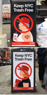 whyyoustabbedme: how fucking lit is this  : 2/2  Keep NYOC  Trash Free  THE  KUNG FU  TOP 10  MERICA  AGAIN  NNOWN B.ID  sanitation  #KeepNYCTrash Free   Rigbelly  Keep NYC  Trash Free  HO whyyoustabbedme: how fucking lit is this