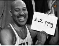 2.2  ppg LaVar Ball was on fire in his heyday!