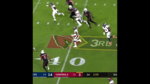 Birthday, Memes, and Broncos: 2  3RD  2-4 14  3  COS  CARDINALS  1st  2:09  3rd  1-5 .@ChrisHarrisJr ALWAYS comes down with the ball.  Happy 30th Birthday to the @Broncos All-Pro CB! https://t.co/UNiWcHm3Hj
