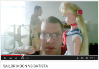 Sailor Moon: 2:56  SAILOR MOON VS BATISTA