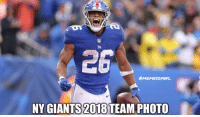 Okay, you can throw Odell in there too 😏: 2-6  26  @MEMESORUFL  NY GIANTS  2018  TEAM PHOTO Okay, you can throw Odell in there too 😏