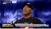 2.719  UNDISPUTED  LIVE  SPONSORED BY LEXUS UX  LAVAR BALL  JOINS UNDISPUTED  Lonzo has been rumored to be part of Anthony Davis trade to Pelicans  FS1  Why don't you want Lonzo to go to New Orleans? LaVar Ball guarantees LeBron will never win a championship in LA without Lonzo https://t.co/EaxJ1JESCx