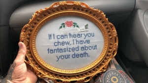 Death, Can, and You: $2 99  If I can hear you  chew, I have  fantasized about  your death.  www Need this