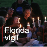 """This is enough"". 17 angels, representing the victims of the Florida high school schooting, were lit up during a moving candelight vigil. Family members of the victims spoke powerfully about their loss, paying tribute to the students and staff killed. florida parkland bbcnews: 2  cl  9  Fv ""This is enough"". 17 angels, representing the victims of the Florida high school schooting, were lit up during a moving candelight vigil. Family members of the victims spoke powerfully about their loss, paying tribute to the students and staff killed. florida parkland bbcnews"