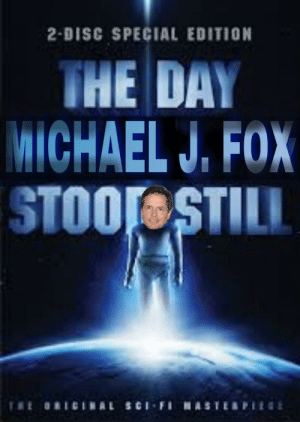 Funny, Michael J. Fox, and Michael: 2-DISC SPECIAL EDITION  THE DAY  MICHAEL J. FOX  STOOL STILL  ORICINAL SCi-FiHASTERPIE Staring Michael J Fox