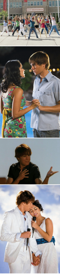 Disney, High School Musical, and School: 2  EAST HIGH SCHOOL It's been 10 YEARS since High School Musical 2 premiered on Disney Channel on August 17, 2007 https://t.co/ic5i7wIjEj
