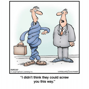 """Farcus: 2  FARCUS  LaughingStock Licensing Inc  """"I didn't think they could screw  you this way.""""  93"""