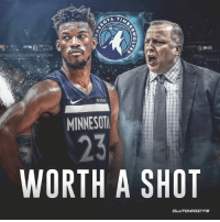 """Clueless, Minnesota, and The Butler: 2  fitbit  MINNESOT  23  WORTH A SHOT """"Butler was worth a shot. Minnesota knew the risks. That those risks have come to pass does not make the Butler trade itself some clueless debacle."""" - Zach Lowe"""
