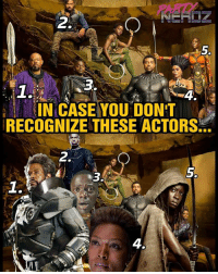 "Best Friend, Blockbuster, and Forest Whitaker: 2  IN CASE YOU DONT  RECOGNIZE THESE ACTORS  2.  5.  1.  4. @EntertainmentWeekly just dropped the latest images from next year's blockbuster BLACKPANTHER film. In case some of you don't recognize these actors, we created a Meme ""Cheat Sheet"" so you better understand the characters in this image: . . 1. Forest Whitaker starring as Zuri, T'Challa's Spiritual Advisor but many remember him from last year's RogueOne as Saw Gerarra . . 2. Michael B. Jordan starring as Erik Killmonger exiled nemesis of Black PANTHER but many know him as CREED & The Human Torch from Fant4stic . . 3. Daniel Kaluuya starring as W'Kabi, T'Challa's best friend but he is most widely known for his role in GET OUT. . . 4. Angel Bassett starring as Ramonda, mother of T'Challa but nerds remember her as Amanda Waller from the Green Lantern Film. . . 5. Danai Gurira starring as Okoye, head of Dora Milaje (a tribe of female warriors) but many know her as MICHONNE from Walking Dead . . *And at the top of the image (not numbered) is Lupita Nyong'o who plays Nakia, Wakand'a Female James Bond of sorts. She was the actress behind Maz Kantata in Force Awakens. WHO IS EXCITED ABOUT THIS FILM?? . . Marvel movies cosplayers drax starlord netflix x23 starwars lukecage negan comingsoon cosplayer doctorstrange gamer blackpanther cosplay nerd geekgirl partynerdz deadpool spiderman guardiansofthegalaxy defenders starwars walkingdead getout michonne"
