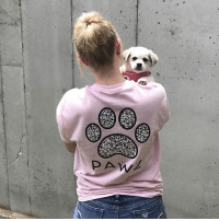 Thanks @kaylee__herzberg for the support in our mosaic tee! Order now at PawzShop.com 🐾: 2  PAW Thanks @kaylee__herzberg for the support in our mosaic tee! Order now at PawzShop.com 🐾