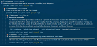 America, Wikipedia, and American: -2 points 2 days ago  Downvoted because there are no American crocodiles, only alligators.  permalink embed save report give gold reply  -1  4 points 1 day ago  I hate to be the one to tell you this, buuut.  permalink embed save parent report give gold reply  -3 points 1 day ago  American crocodile  The American crocodile (Crocodylus acutus) is a species of crocodilian found in the Neotropics. It is the most  widespread of the four extant species of crocodiles from the Americas. Populations occur from southern Florida and  the Atlantic and Pacific coasts of southern Mexico to South America as far south as Peru and Venezuela. It also lives  on many of the Caribbean islands such as Cuba, Jamaica, Hispaniola and Grand Cayman  [ PM I Exclude me | Exclude from subreddit | FAQ Information | Source ] Downvote to remove | vo.28  permalink embed save parent report give gold reply  - 2 points 1 day ago  Non-Mobile link: https://en.wikipedia.org/wiki/American_crocodile  HelperBot v1.1 /r/HelperBot_ I am a bot. Please message /u/swim1929 with any feedback and/or hate. Counter: 204582  permalink embed save parent report give gold reply
