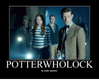 Target, Tumblr, and Blog: 2  POTTERWHOLOCK  is now canon. weaponizedwit:  andjewgarfield:  amarriageoftrueminds:  *also Mark Sheppard was in it so technically SUPERPotterwholock*  nope shut the fuck up  David Tennant as Barty Crouch Jr didn't do it for you? Or Mark Gatiss being Mycroft Holmes?