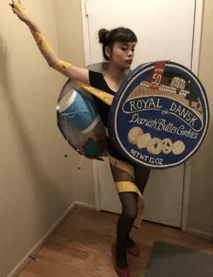 Funny, Via, and All: 2  ROYAL  NETWT 1202 The scariest costume of all via /r/funny https://ift.tt/2PHa1US