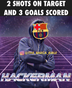 Barça yesterday 🤣 ⠀⠀⠀⠀⠀⠀⠀⠀⠀⠀⠀ (📸 @the_barca_bible): 2 SHOTS ON TARGET  AND 3 GOALS SCORED  FC B  廻@TAE-BARCA BIBLE Barça yesterday 🤣 ⠀⠀⠀⠀⠀⠀⠀⠀⠀⠀⠀ (📸 @the_barca_bible)