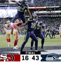 Memes, Seahawks, and 🤖: 2  Si  i2  FINAL  16 43 FINAL: The @Seahawks win their 3rd straight! #Seahawks  #SFvsSEA https://t.co/XTa7c5HBpj