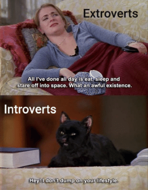 2 types of ppl by meowingexpletives MORE MEMES: 2 types of ppl by meowingexpletives MORE MEMES