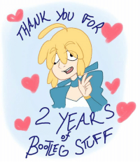 Well I'll be darned, this page is 2 years old today  To celebrate, I'll be posting all of my favorite and most shared bootlegs that've been posted on this page :>  And of course, thank you, each and every one of you, from the bottom of my heart. Seriously. I couldn't ask for better bootleg lovers than all of you, and I'm beyond grateful that you like my cheap, poorly painted, mistranslated, and certainly unlicensed content. It means the world to me, it really does. Seriously, you're all so excellent. It blows my fucking mind, it really and truly does. Real talk, I often wonder what the fuck I did to deserve you rad folks following my shitty ass page. Hot damn. To say I'm grateful is an understatement.   I love you all, I really do. Thank you for following this page and being great in general <3  ---  Illustration by me. My art page is here >>Dynneekx<< or you can visit my YouTube channel where I talk about video games. In fact I recently made a video about a bootleg Stardew Valley game. >>Red Bard<<: 2 YEA  STUFF  Oo Well I'll be darned, this page is 2 years old today  To celebrate, I'll be posting all of my favorite and most shared bootlegs that've been posted on this page :>  And of course, thank you, each and every one of you, from the bottom of my heart. Seriously. I couldn't ask for better bootleg lovers than all of you, and I'm beyond grateful that you like my cheap, poorly painted, mistranslated, and certainly unlicensed content. It means the world to me, it really does. Seriously, you're all so excellent. It blows my fucking mind, it really and truly does. Real talk, I often wonder what the fuck I did to deserve you rad folks following my shitty ass page. Hot damn. To say I'm grateful is an understatement.   I love you all, I really do. Thank you for following this page and being great in general <3  ---  Illustration by me. My art page is here >>Dynneekx<< or you can visit my YouTube channel where I talk about video games. In fact I recently made a video about a bootleg Stardew Valley game. >>Red Bard<<