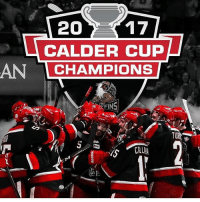 Detroit, Memes, and Grand: 20  17  CALDER CUP  AN  CHAMPIONS The Grand Rapids Griffins are the 2017 Calder Cup Champions! Griffins CalderCup GrandRapids nhldiscussion AHLDiscussion Detroit RedWings