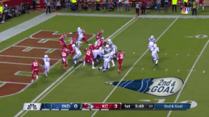 Got 'em with the pump fake.  @JBrissett12 is in for the score! #Colts  📺: #INDvsKC on NBC 📱: NFL app // Yahoo Sports app Watch free on mobile: https://t.co/ZqkGgcuCUY https://t.co/VVPEg3uzZs: 20  2nd&  GOAL  2nd & Goal  1st 3:49  :23  IND O  KC  4-0  2-2 Got 'em with the pump fake.  @JBrissett12 is in for the score! #Colts  📺: #INDvsKC on NBC 📱: NFL app // Yahoo Sports app Watch free on mobile: https://t.co/ZqkGgcuCUY https://t.co/VVPEg3uzZs