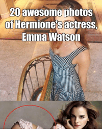 20  awesome photos  of Hermione's actress.  Emma Watson 20 awesome photos of Hermione's actress, Emma Watson Read the full story here 👉 https://1jux.net/630031/70232