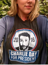 Charlie, Memes, and Http: 20  CHARLIE DAY  FOR PRESIDENT Don't forget to vote! http://itsalways.com/charlie2016  #Charlie2016