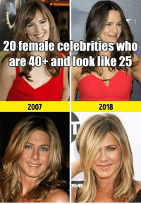 German (Language), Celebrities, and Net: 20 female celebrities who  are 40% andlook like 25  2007  2018 20 female celebrities who are 40+ and look like 25 Read the full story here 👉 https://1jux.net/642080/70232