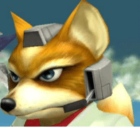 20 minutes into Melee and chill and he gives you this look.: 20 minutes into Melee and chill and he gives you this look.