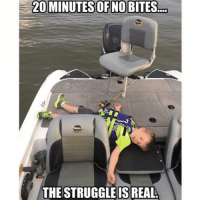 DOUBLE TAP if you know that guy😂😂 LIKE & TAG A FRIEND fishing FishingProbs: 20 MINUTES OF NO BITES  THE STRUGGLE IS REAL. DOUBLE TAP if you know that guy😂😂 LIKE & TAG A FRIEND fishing FishingProbs