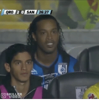 Ronaldinho vs Santos Laguna! 😱😲 @skillervideo FOR FREE SOCCER PLAYER EMOJIS CLICK THE LINK IN MY BIO AND DOWNLOAD THE SPORTSMANIAS APP! 🔥🔥: 20 SAN /26:27  ORO  AIAA  VIDEO Ronaldinho vs Santos Laguna! 😱😲 @skillervideo FOR FREE SOCCER PLAYER EMOJIS CLICK THE LINK IN MY BIO AND DOWNLOAD THE SPORTSMANIAS APP! 🔥🔥