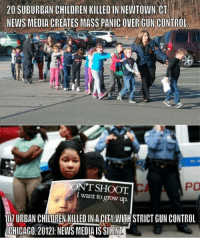 """America, Anaconda, and Chicago: 20 SUBURBAN CHILDREN KILLED IN NEWTOWN CT  NEWS MEDIA CREATES MASS PANIC OVER GUN CONTROL  PO  ONT SHOOT  I want to grow up.  107 URBAN CHILDREN.KILLED IN A.CITM WITH STRICT GUN CONTROL  CHICAGO, 20121: NEWS MEDIA IS SILENT <p><a class=""""tumblr_blog"""" href=""""http://herpicusderpicus.tumblr.com/post/44209378662/fightfighters-misantrophywife"""">herpicusderpicus</a>:</p> <blockquote> <p><a class=""""tumblr_blog"""" href=""""http://fightfighters.tumblr.com/post/44099954071/misantrophywife-theresolutionyear"""">fightfighters</a>:</p> <blockquote> <p><a class=""""tumblr_blog"""" href=""""http://misantrophywife.tumblr.com/post/43864211054/theresolutionyear-thepoetfromthehood"""">misantrophywife</a>:</p> <blockquote> <p><a class=""""tumblr_blog"""" href=""""http://theresolutionyear.tumblr.com/post/42032373854/thepoetfromthehood-missdimples2012-i-was"""">theresolutionyear</a>:</p> <blockquote> <p><a class=""""tumblr_blog"""" href=""""http://thepoetfromthehood.tumblr.com/post/41427971690/missdimples2012-i-was-speaking-with-a-black"""">thepoetfromthehood</a>:</p> <blockquote> <p><a class=""""tumblr_blog"""" href=""""http://missdimples2012.tumblr.com/post/41353443715/i-was-speaking-with-a-black-friend-of-mine-earlier"""">missdimples2012</a>:</p> <blockquote> <p><a class=""""tumblr_blog"""" href=""""http://conttrolledchaos.tumblr.com/post/40953308684"""">conttrolledchaos</a>:</p> <blockquote> <p><em><strong><span>I was speaking with a Black friend of mine earlier today about this and he brought up a great point. The Elite, White media can literally stir an entire Nation into a frenzy over the massacre of 20 suburban white children but simply overlook the deaths of over 100 Black children in Chicago. Wake up, People, you are being played by the Government and the Media. All children should be equal in the eyes of our Government.</span></strong></em></p> </blockquote> <p>Truth.</p> </blockquote> <p>""""They don't give a fuck about us"""" - Tupac Shakur</p> </blockquote> <p>We talked about this in my history class last week. The med"""