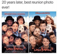 Funny: 20 years later, best reunion photo  ever!  90stwshowstweets