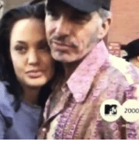 pieceofcake:  Angelina was wild back in 2000: 2000 pieceofcake:  Angelina was wild back in 2000