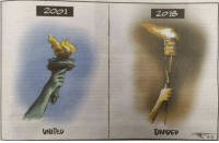 In the New Zealand Herald, September 11th: 2001  2o18  UNITED  DIVIDED /11 In the New Zealand Herald, September 11th