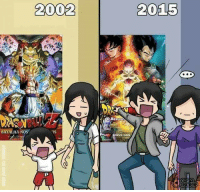 Drugs, Memes, and Dragons: 2002  BATALHA Nos  2015  nNEVE Nos So True!   ~Anime Is My Drug, Dragon Ball Is My Dealer