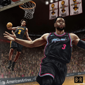 From D-Wade to Z-Wade. The legacy continues.   #DWadeDay: 2006 2012 2013  2  3  AmericanAirlines From D-Wade to Z-Wade. The legacy continues.   #DWadeDay