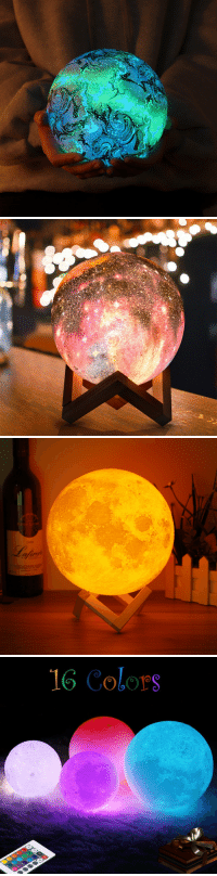 Target, Tumblr, and Control: 2006  fuv   16 Colors cutelovelzy:  3D Moon Lamp 16 Color Changing USB Charging LED Night Light Remote Control GiftLeft  1    ☆★    Right 2Left 3    ☆★    Right 4Available in a variety of sizes and colors,in stock15% OFF Discount Code: happy15➷Here Download APP to Get $60 coupon ~~