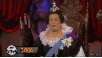 Girls, Halloween, and Memes: 2006  THE  VIEW  m THE VIEW 20 YEARS OF 'VIEW' HALLOWEENS: From Rosie O'Donnell as Queen Victoria and Sherri Shepherd as zombie 'Flavor Flav' to Whoopi Goldberg as a go-go girl and Barbara Walters' unforgettable impersonation of Marilyn Monroe—look back at twenty years of Halloween! See another EPIC Halloween on The View Monday!