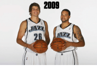 Reunited and it feeeels so good.  Utah Jazz ➡️ Cleveland Cavaliers: 2009  ALDING Reunited and it feeeels so good.  Utah Jazz ➡️ Cleveland Cavaliers