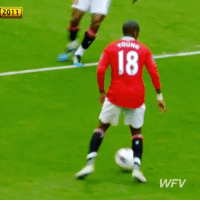 Ashley Young's first goal for Manchester United, and what a goal it was 👏 TB - Follow us for more vids ✅: 2011  4OUNe  18  WFV Ashley Young's first goal for Manchester United, and what a goal it was 👏 TB - Follow us for more vids ✅