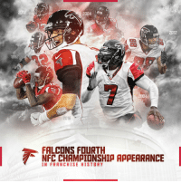 Memes, NFC Championship Game, and Falcons: 2012  1998  2004  2012  ALC  2004  2016  FALCONS FOURTH  NFC CHAMAIONSHIA AAAEARANCE  IN FRANCHISE HISTOR y For the 4th time in franchise history, the @AtlantaFalcons will RiseUp to the NFC Championship Game!