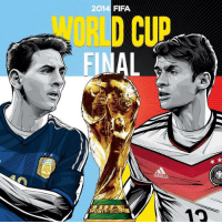 Who wins? Retweet for Argentina Favorite for Germany http://t.co/AD2wxE876p: 2014 FIFA  WORLD CUP  AL  12 Who wins? Retweet for Argentina Favorite for Germany http://t.co/AD2wxE876p
