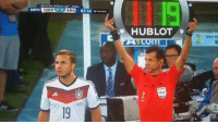 2014 FIFA WORLD CUP FINAL  as GER 0-0 ARG  87:14  s HUBLOT  FIFA Best substitution in History...