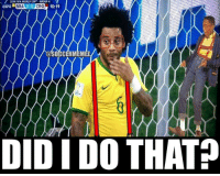2014 FIFA WORLD CUP, GROUP A  marie  BRAUuy CRO  10:19  DID I DO THAT Marcelo after the OWN GOAL!