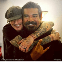 George Lopez, Homie, and Love: 2015 George Lopez El Mas Chingon  whosay Uh Hey @mrtommyland #happybirthdaymotherfucker 🤘🏼 I know It's Getty Up time wherever you are homie ( love you my brother #chingonreconizeschingon