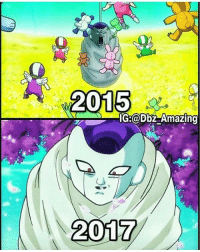 Sucks to be frieza rn😂 which year was more funny? Tag a friend Credit: @dbz_amazing Tags: dragonballz dragonball dragonballsuper anime manga dbs dbz db goku gohan goten vegeta vados bulma bardock beerus broly gaming japan naruto dbgt opm onepunchman hxh whis dokkanbattle fairytail xbox playstation gamer: 2015  IG:  @bbz Amazing  2017  2017 Sucks to be frieza rn😂 which year was more funny? Tag a friend Credit: @dbz_amazing Tags: dragonballz dragonball dragonballsuper anime manga dbs dbz db goku gohan goten vegeta vados bulma bardock beerus broly gaming japan naruto dbgt opm onepunchman hxh whis dokkanbattle fairytail xbox playstation gamer