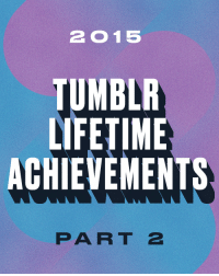"""Fashion, Love, and Molly: 2015  TUMBLR  LIFETIME  ACHIEVEMENTS  PART 2 <h2>Tumblr Lifetime Achievement: Part 2</h2><p>Here's to the Tumblrs who have spent years with us, aging like a fancy, expensive fromage. May they continue to get better and better.<br/></p><ol start=""""21""""><li><a href=""""http://explodingdog.tumblr.com"""">explodingdog</a></li>  <li><a href=""""http://willlaren.tumblr.com"""">Will Laren</a></li>  <li><a href=""""http://mollysoda.tumblr.com"""">Molly Soda</a></li>  <li><a href=""""http://cabinporn.tumblr.com"""">Cabin Porn</a></li>  <li><a href=""""http://scanwiches.tumblr.com"""">Scanwiches</a></li>  <li><a href=""""http://theidiotking.tumblr.com"""">Self Absorption at Discount Prices</a></li>  <li><a href=""""http://slaughterhouse90210.tumblr.com"""">SLAUGHTERHOUSE 90210</a></li>  <li><a href=""""http://one-twenty-five.tumblr.com"""">One Twenty Five</a></li>  <li><a href=""""http://shoelust.tumblr.com"""">Shoelust</a></li>  <li><a href=""""http://prettycolors.tumblr.com"""">Pretty Colors</a></li>  <li><a href=""""http://theagonyofdefeat.tumblr.com"""">The Agony of Defeat</a></li>  <li><a href=""""http://neilcicierega.tumblr.com"""">Neil Cicierega Tumblr</a></li>  <li><a href=""""http://blackberryvision.tumblr.com"""">BBV</a></li>  <li><a href=""""http://ilovecharts.tumblr.com"""">I Love Charts</a></li>  <li><a href=""""http://terrysdiary.tumblr.com"""">Terry&rsquo;s Diary</a></li>  <li><a href=""""http://wetheurban.tumblr.com"""">WETHEURBAN</a></li>  <li><a href=""""http://jennirl.tumblr.com"""">the adventures of jenn I(n) R(eal) (L)ife</a></li>  <li><a href=""""http://blackfashion.tumblr.com"""">Black Fashion</a></li>  <li><a href=""""http://collegehumor.tumblr.com"""">CollegeHumor Staff Blog</a></li>  <li><a href=""""http://prostheticknowledge.tumblr.com"""">prosthetic knowledge</a></li></ol>"""